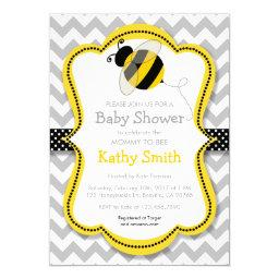 Mommy To Bee Baby Shower Invitationss