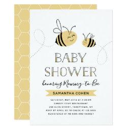 Mommy-to-bee | Baby Shower | Yellow