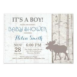 Moose Boy   Rustic Woodland
