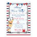 Nautical Baby Shower Invitations, Baby Shower Invitations