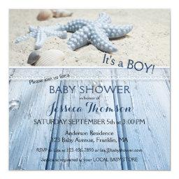 Nautical Beach Baby Boy Shower