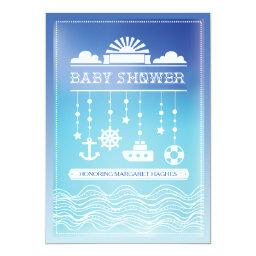 Nautical Mobile Baby Shower