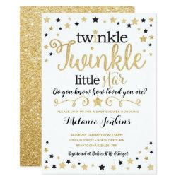 Neutral Twinkle Little Star Baby Shower