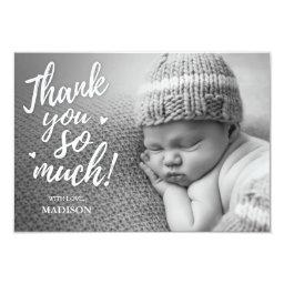 Newborn Thank You