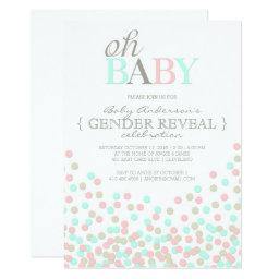 Oh Baby Confetti  Party | Pink Blue