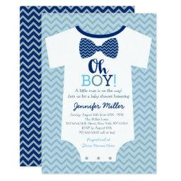 Oh Boy Bow Tie Baby Shower