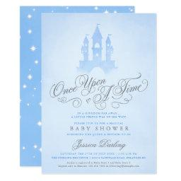 Once Upon A Time Fairytale Castle Boy Baby Shower