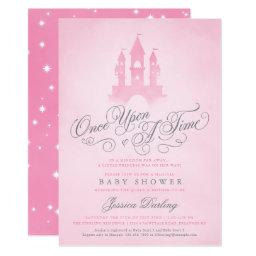 Once Upon A Time Fairytale Castle Girl Baby Shower