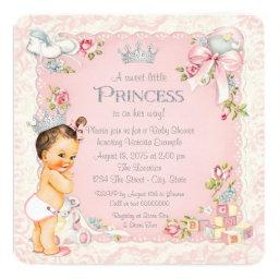 Once Upon A Time Little Princess Baby Shower Invitation