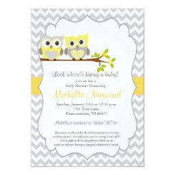 Owl baby shower invitations babyshowerinvitations4u owl baby shower invitation filmwisefo