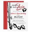 Panda Baby Shower Invitation