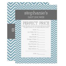 Pastel Blue Baby Shower Game - Perfect Price