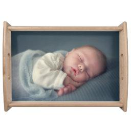 Personalised Your Photo Serving Tray