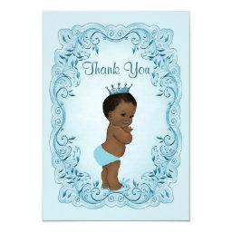 Personalized Ethnic Prince  Thank You