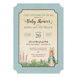 Peter Rabbit | Boy Baby Shower Invitations