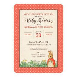 Peter Rabbit - Flopsy | Girl Baby Shower