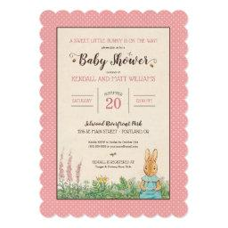 Peter Rabbit | Girl Baby Shower