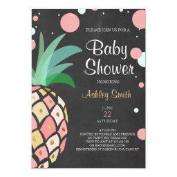 Pineapple Baby shower  Tropical Baby