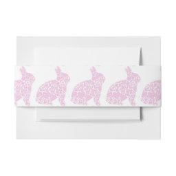 Pink Bunny  Belly Bands  Belly Band
