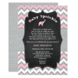 Pink elephant baby sprinkle, baby shower