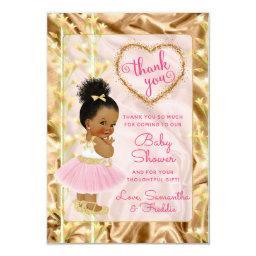 Pink & Gold Thank You Ethnic