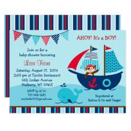 Pirate Whale Baby Shower