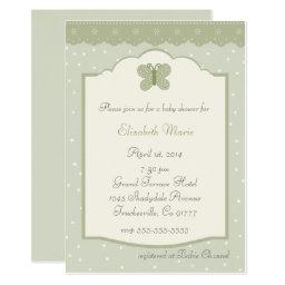 Polka Dots and Butterfly-Whimsical Baby Shower