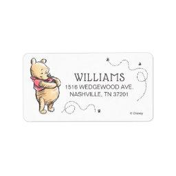 Pooh & Friends Watercolor | Baby Shower Label
