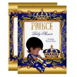 Prince  Blue Gold African American Foil