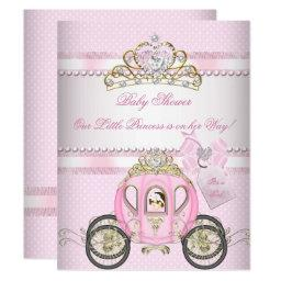 Princess Pretty Baby Shower Cute Girl Carriage