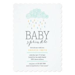 Rain Clouds Baby Shower