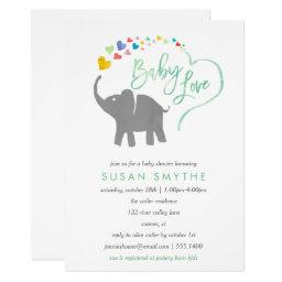 Rainbow Baby, Elephant Baby Shower