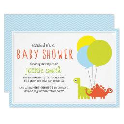 Rawr! Dino Baby Shower Invite