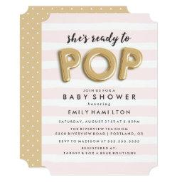 Ready To Pop | Baby Shower