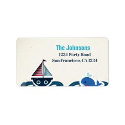 Return Address Label Nautical