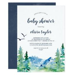 Rocky Mountain Baby Shower Invitation