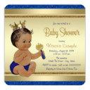 Royal Baby Boy Blue Gold Ethnic Prince Baby Shower