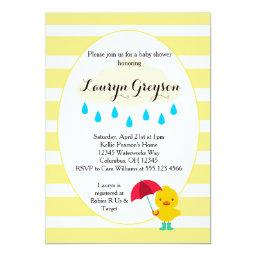 Rubber Ducky Duck Yellow Baby Shower