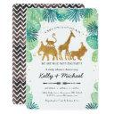 Safari Animals Baby Shower