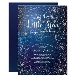 Silver Twinkle Little Star Baby Shower
