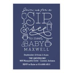 Sip And See Baby Shower