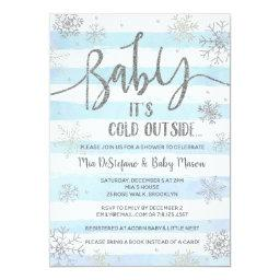 Snowflakes Winter Baby Shower