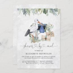 Stork Delivery | Virtual Baby Shower By Mail Invitation