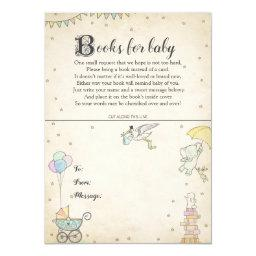 Story Book Baby Shower Book Plate Invitations