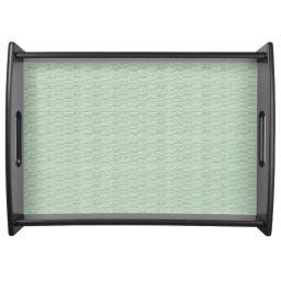 """Stylish Designs-Jade-Shadow*-Green_LG-Vanity Serving Tray"
