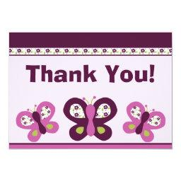 Sugar Plum Butterflies #2 Thank You