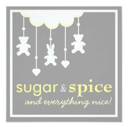 Sugar & Spice Neutral Baby Shower