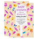 Summer Watercolor Ice Cream Pop Baby Shower