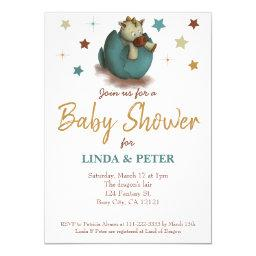 Sweet baby dinosaur neutral Baby Shower