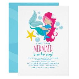 Sweet Mermaid Baby Shower
